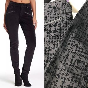 NYDJ black super skinny long jeans